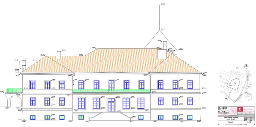 Zaměření stavebních objektů GK Písek